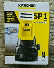 Karcher Submersible Water Pump SP1 dirt Brand New Boxed
