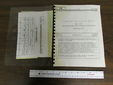 Te Systems Operation & Service Manual 0503G Low Power Rf Amplifier 50Mhz