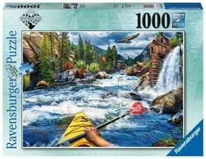 "Ravensburger  -  ""Whitewater Kayaking""  -  Puzzle 1000 Piece  NEW"