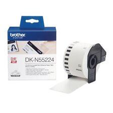 Brother DK Etiquetas dk-n55224 (54mm x 30.5m) Continuo No-Adhesivo Papel