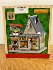Lemax Walt's Malts 95533 Exterior Lighted Building 2019 Free Shipping