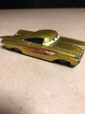 Disney Pixar Cars Yellow Ramone 1959 Chevrolet Impala Diecast Loose.