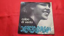 """DISCO 45 giri - MARISA SANNIA """" COLPO DI VENTO - QUANDO TORNI """" ITALY'68"""