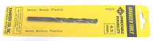 "(2) 6.5mm Twist Drill bits Metric High speed steel hs hss 6.5 mm 4"" + Long"