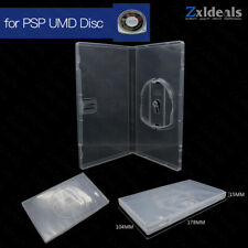 Replacement Case for PSP UMD Disc Game Movie Clear Box Playstation Portable