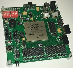 XILINX VIRTEX-4 XC4VFX60 FPGA kit. Development board XKF4