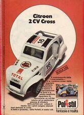 Pubblicità Advertising Werbung 1978 POLISTIL Citroen 2cv Cross/KTM 400 MC Cross