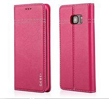 Samsung Galaxy S7 borde Abatible Cuero Estuche ~ 3D hdcurved templado protector de pantalla