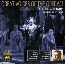 "Great Voices of the Opera II: The Legendary ""Giuseppe di Stefano""/2 CD-Set"