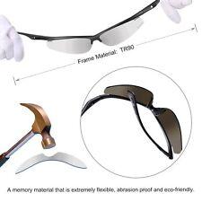 Hodgson Polarized Sunglasses Men/Women Extremely Light TR90 Unbreakable w/Case
