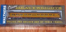WALTHERS 932-10258 PULLMAN HEAVYWEIGHT 3-2 LOUNGE-OBS UNION PACIFIC UP (YELLOW)