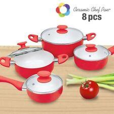 Baterãa de Cuisine Ceramic Chef Pan (8 Piezas)
