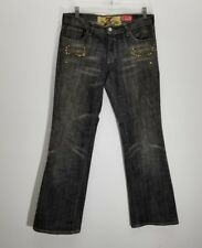 7 For All Mankind Great China Wall Womens Jeans Sz 28 Stretch Studded Rhinestone