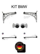 KIT TRIANGLE BRAS DE SUSPENSION ESSIEU AVANT 6 PIECES BMW 3 E46 318D 320D 330D