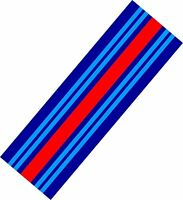 Le Mans Martini style Stripe 2 metres long Sticker decal A648