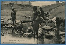 CPA MAROC: CASABLANCA - Types de Sénégalaises / 1916