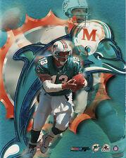 Miami Dolphins DAN MARINO Glossy 8x10 Photo Composite Football Print Poster