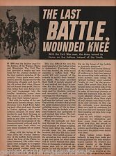 Wounded Knee -The Last Battle +Big Foot, Black Kettle, Cochise, Custer, Geronimo