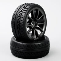 4PCS On-Road Tires&Wheel Rim 12mm Hex  for HPI HSP RC 1:10 Scale Racing Car