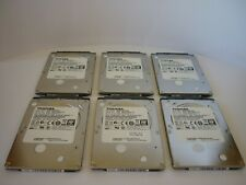 Lotto 6 Pezzi Hard disk Hdd 2,5 sata 320GB SLIM Toshiba MQ01ABF032