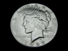 USA, 1 Dollar, 1923, Peace, Silber/900, orig., ss.!