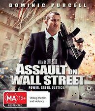 Assault On Wall Street (Blu-ray, 2015) New & Sealed