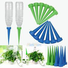 60Pcs Garden Cone Watering Spike Plant Flower Waterers Bottle Irrigation NEW