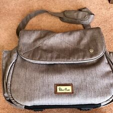 Silver Cross Grey Luxury Baby Nappy Changing Bag With Change Mat Holiday Travels