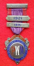 More details for tunbridge wells equitable friendly society pwm medal with original certificate