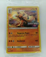 S&M Forbidden Light Promo Pre-Release Lycanroc SM118 Sealed Pokemon Trading Card
