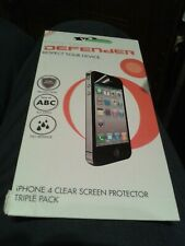 Pro/tec Screen Protector Tripple Pack Clear for IPHONE 4