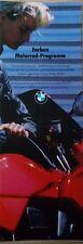 Prospekt BMW Farben K100 K75 R100 RS R80G/S R80RT R80 R65  9/86