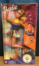 Barbie Star Skater Olympic Winter Games Salt Lake 2002 Mattel Nrfb Exc