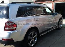 07-12 Mercedes GL320 GL350 GL450 Chrome Window Sill Trim Stainless Steel X164