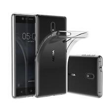 Dünn Slim Cover Nokia 3 Handy Hülle Silikon Case Transparent Schutz Tasche