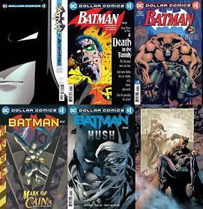 Dollar Comics: Batman (#13, #386, #428, #497, #567, #608, #613, 2019-2020)