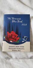 Vintage Datebook 1954 Dugan's Drug Store Webster, Mass