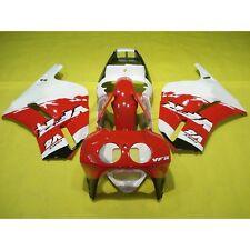 Red White Hand Made Fairing Bodywork Kit Fit For Honda VFR400R VFR 400 R NC30 7A