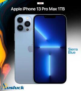 "APPLE iPHONE 13 PRO MAX 1TB SIERRA BLUE MLLN3X/A MODEL  NEW ""AUSLUCK"""