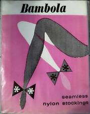 Vintage Bambola Beige Thigh Highs Stay-ups Hold-ups Seamless Stockings