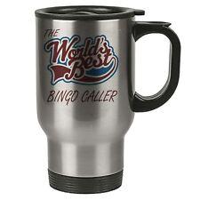 The Worlds Best Bingo Caller Thermal Eco Travel Mug - Stainless Steel