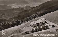 Cartolina-Berg Hotel fonte nella foresta nera
