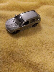 MotorMax #6025 BMW X5 1:64 Diecast SUV Silver