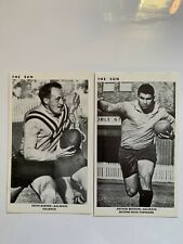 1967 The Sun Newspaper Rugby League Cards - Balmain Tigers