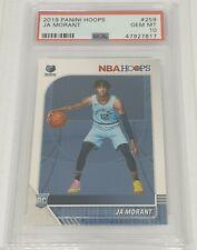 Ja Morant Rookie Card PSA 10 Gem Mint Rookie RC NBA Hoops RC #259 Grizzlies