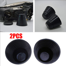 2Pcs Rubber Housing Seal Cap Dust Cover for Car LED HID Headlight 70-100mm