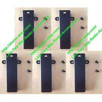 5x Belt Clip for Kenwood TK-280 TK380 TK-480 TK-3107 TK-220 TK-2160 TK-2200
