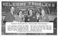Chicago Illinois Hotel Sherman Welcome Travlers Radio Show Postcard J47213