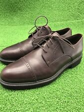 Dressports By Rockport Mens 10W US Brown Cap Toe Blucher Derby Leather Oxford