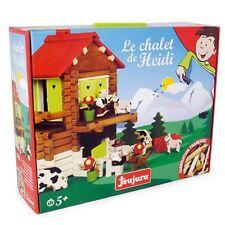 Jeujura Chalet Suisse Heidi jeu d'imagination Construction Game Bauspiel